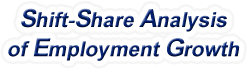 Shift-Share Analysis of Tennessee Employment Growth and Shift Share Analysis Tools for Tennessee